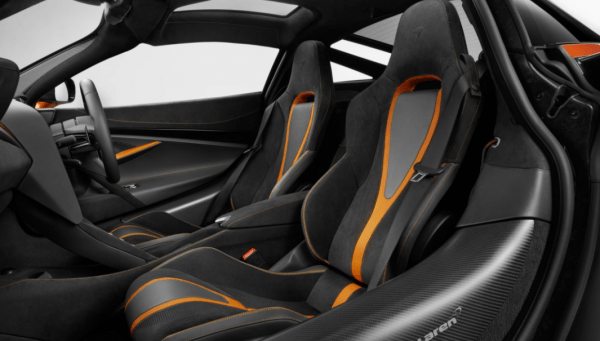 2018 McLaren 720S Seats review interior