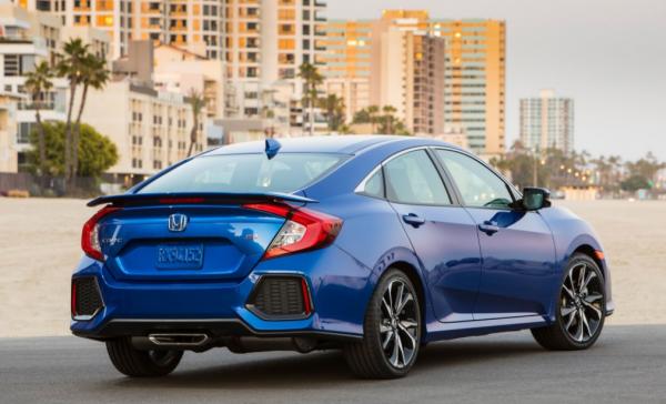 2017 Honda Civic Si rear review