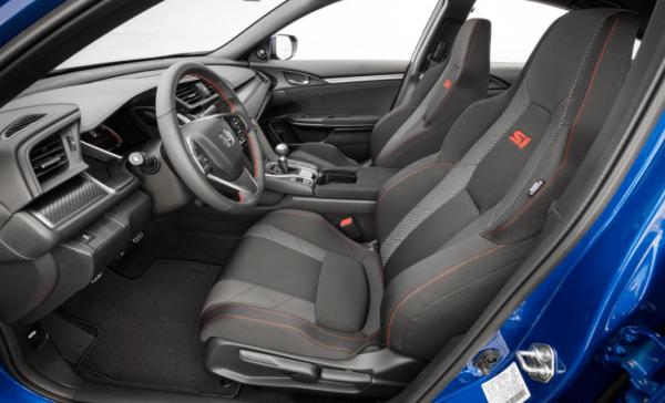 2017 Honda Civic Si Seats review interior