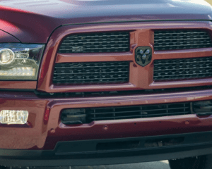 2017 Ram 2500 HD Front Grille View