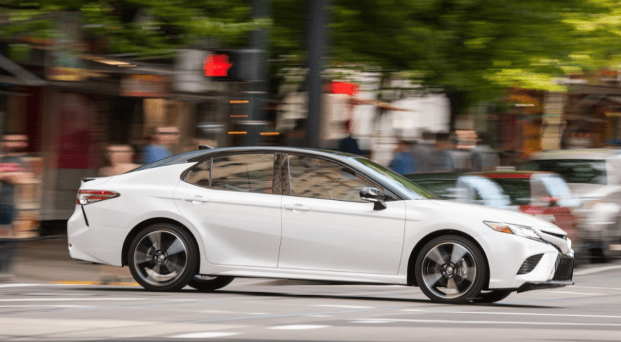 2018 Toyota Camry Side View