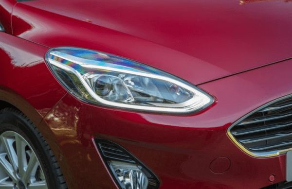 2018 Ford Fiesta 1.0T headlights review