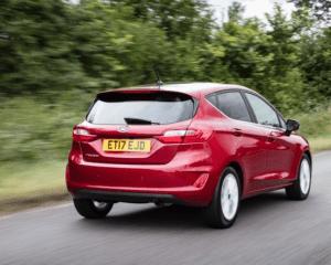 2018 Ford Fiesta 1.0T Rear View