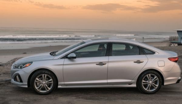 2018 Hyundai Sonata side review
