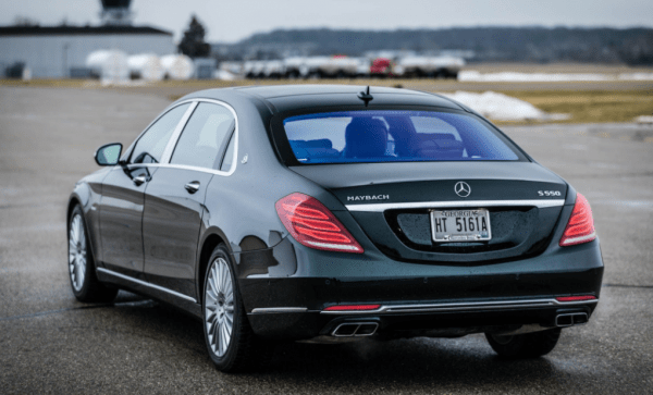 2017 Mercedes Maybach rear review