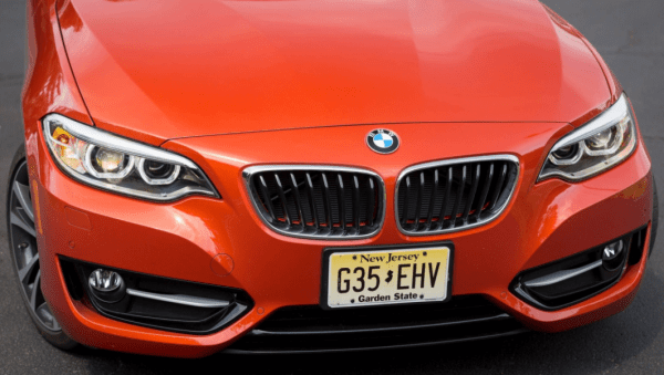 2018 BMW 2 series front grille review