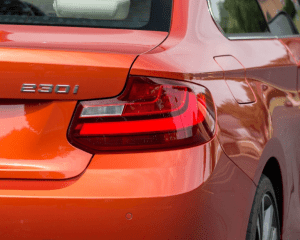 2018 BMW 2 Series Rear Lights View