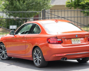 2018 BMW 2 Series Rear View