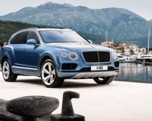 2018 Bentley Bentayga Front View