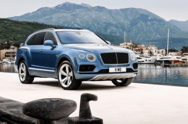 2018 Bentley Bentayga review front