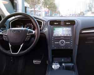2018 Ford Fusion Dashboard View