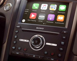 2018 Ford Fusion Infotainment System View