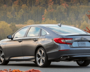 2018 Honda Accord Rear View
