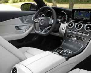 2018 Mercedes Benz Cabriolet Dashboard View