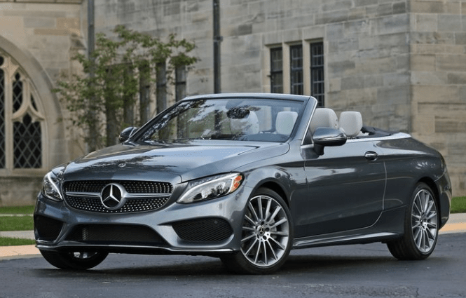 2018 Mercedes Benz Cabriolet Front View