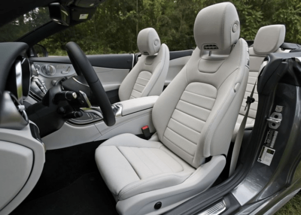 2018-Mercedes-Benz-Cabriolet-seats-review 2018 Mercedes-Benz C300 Cabriolet