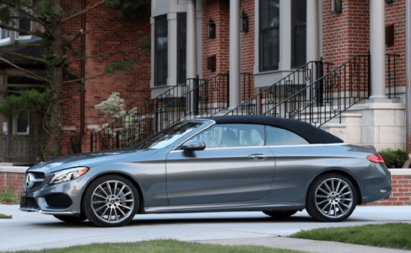 2018-Mercedes-Benz-Cabriolet-roof-up-review 2018 Mercedes-Benz C300 Cabriolet