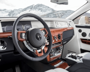 2018 Rolls Royce Phantom VIII Dashboard