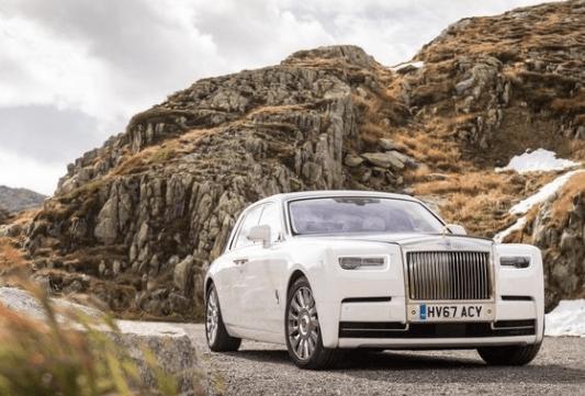 2018 Rolls Royce Phantom VIII Front View