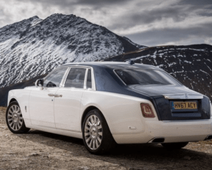 2018 Rolls Royce Phantom VIII Rear View