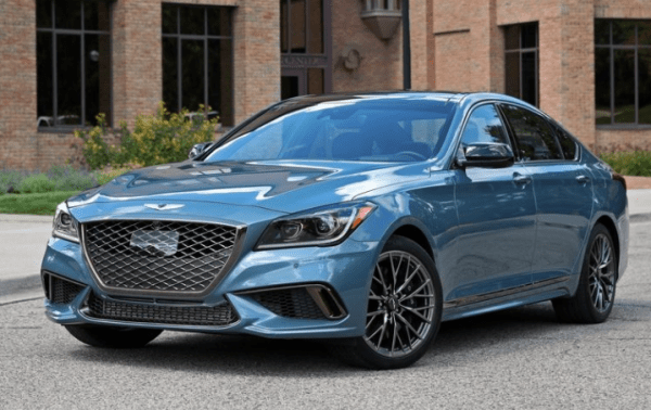 2018 Genesis G80 front review