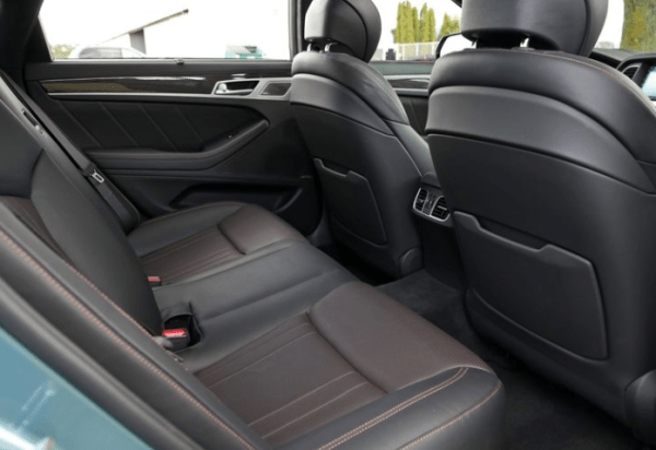 2018 Genesis G80 seats review