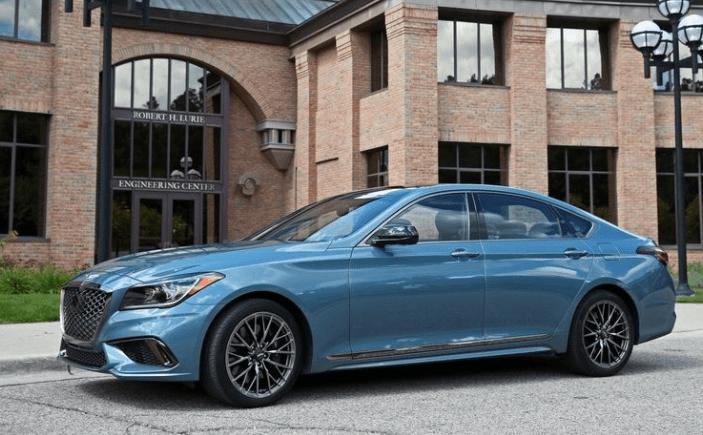 2018 Genesis G80 Sport Side View