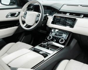 2018 Ranger Rover Velar Dashboard View