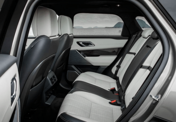 2018 Range Rover Velar rear seats review