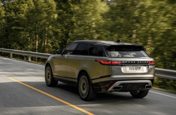 2018 Range Rover Velar rear review