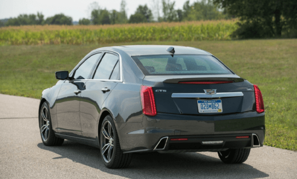 2018 Cadillac CTS rear review