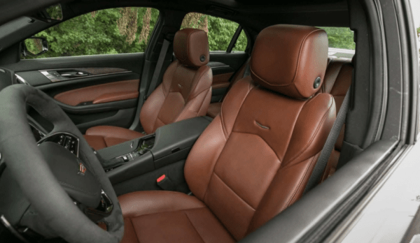 2018 Cadillac CTS seat review