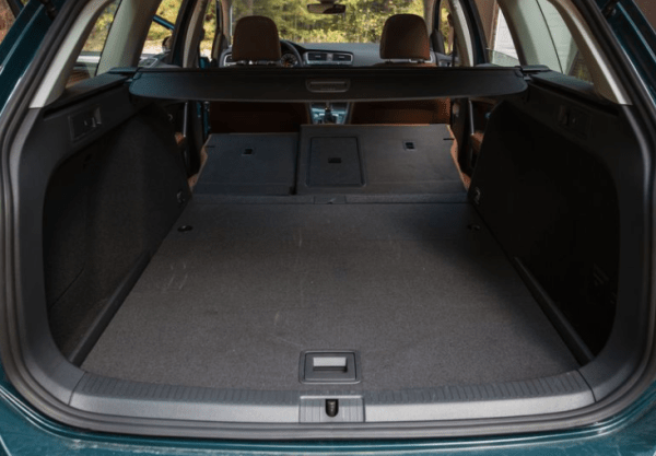 2018 Volkswagen Golf Alltrack cargo space review