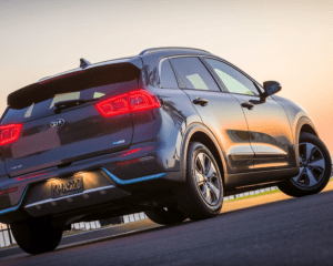 2018 Kia Niro Plug in Hybrid Rear View