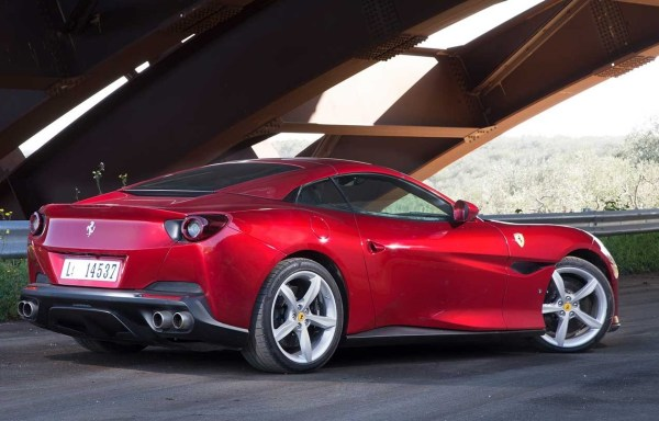 2018 Ferrari Portofino side exterior rear review