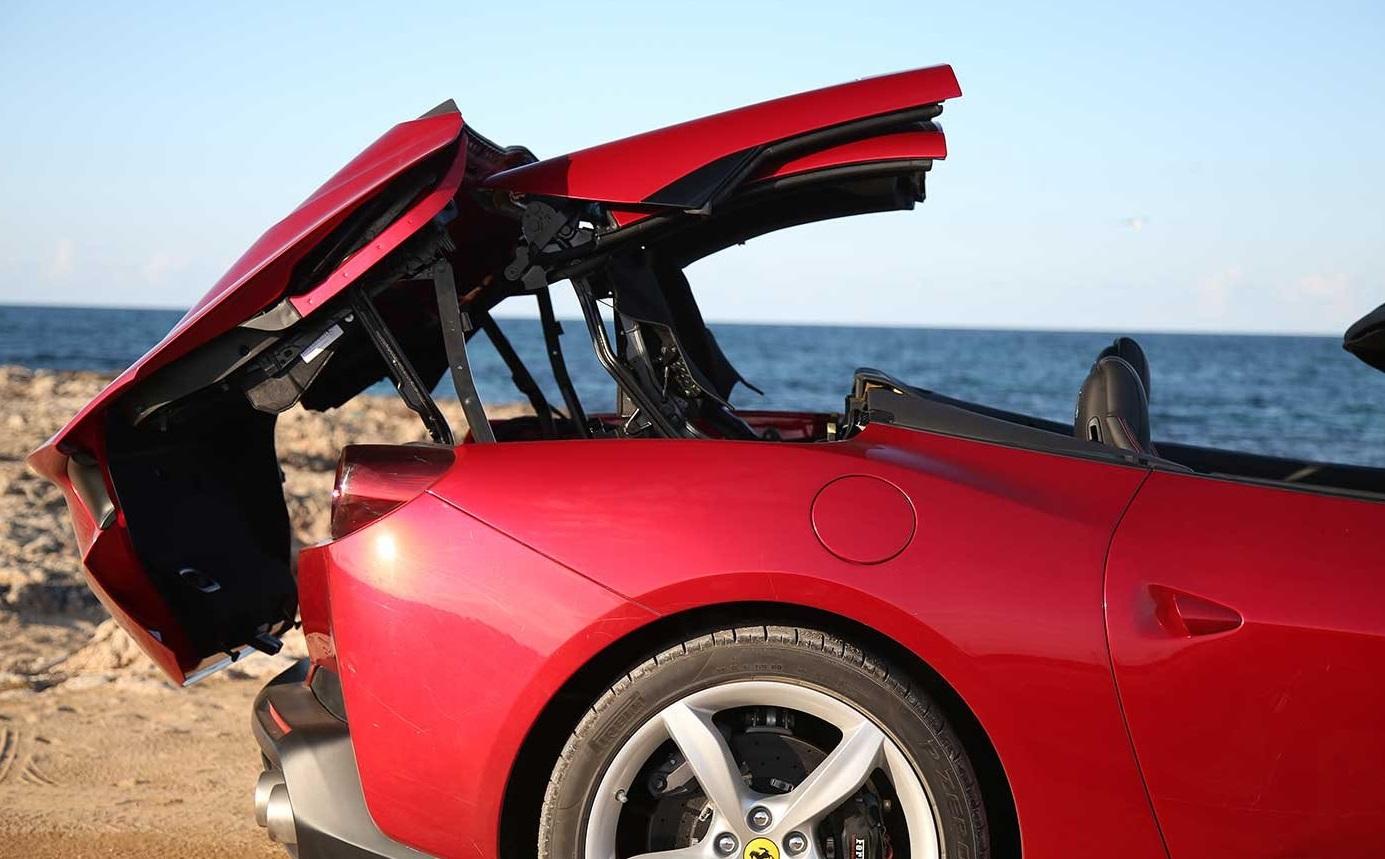 2018 Ferrari Portofino Drop Top View
