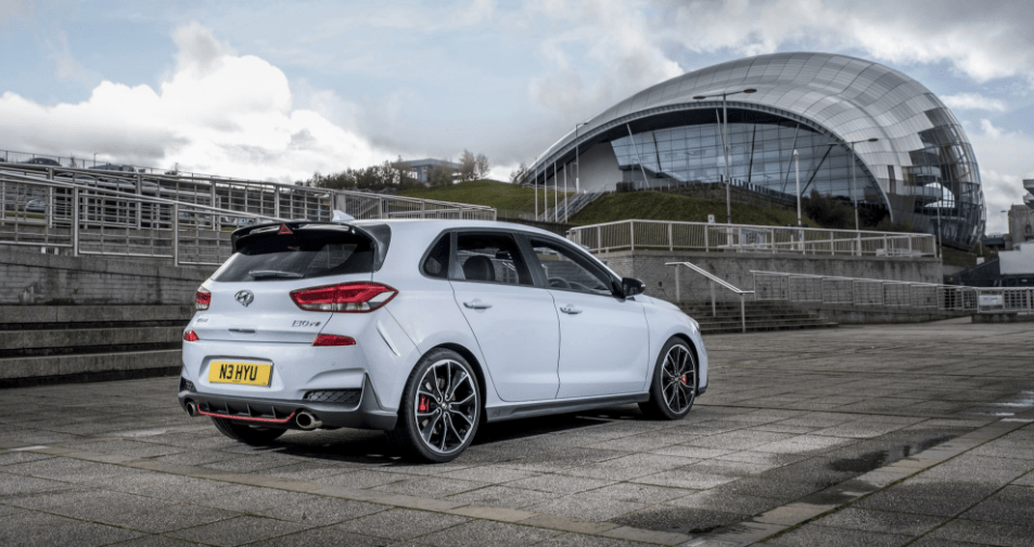 2018 Hyundai i30 N Rear View