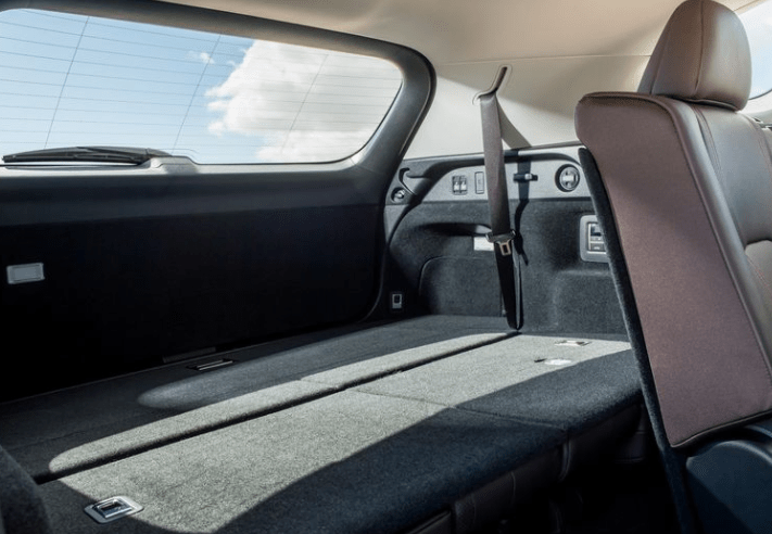 2018 Lexus RX350L Trunk View