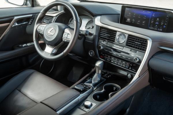 2018 Lexus RX350L dashboard review