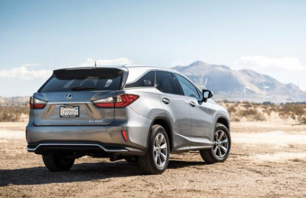 2018 Lexus RX350L rear side review