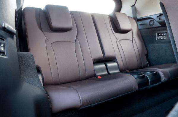 2018 Lexus RX350L third-row seats review