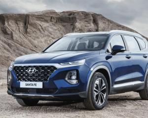 2019 Hyundai Santa Fe SUV Front View