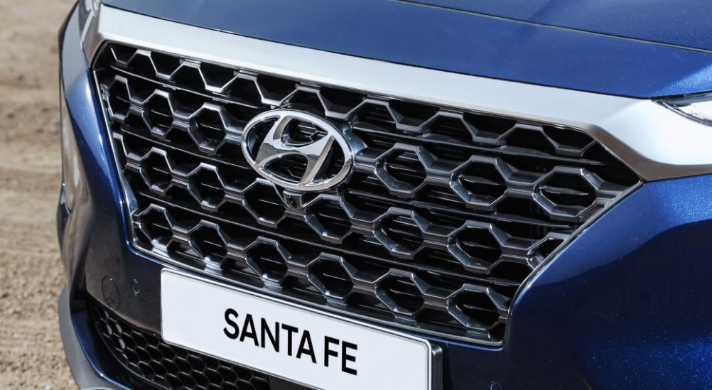 2019 Hyundai Santa Fe SUV Grille View