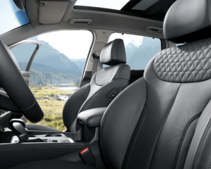 2019 Hyundai Santa Fe SUV Seats View