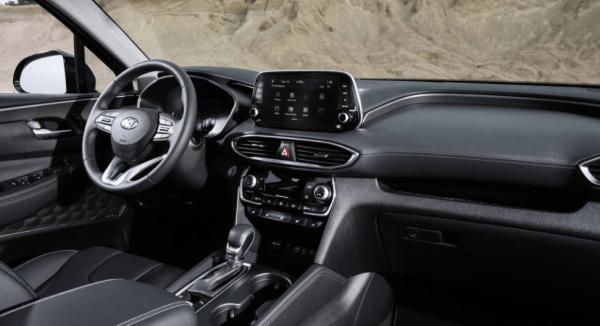 2019 Hyundai Santa Fe steering