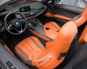 2019 BMW i8 Interior Seats View