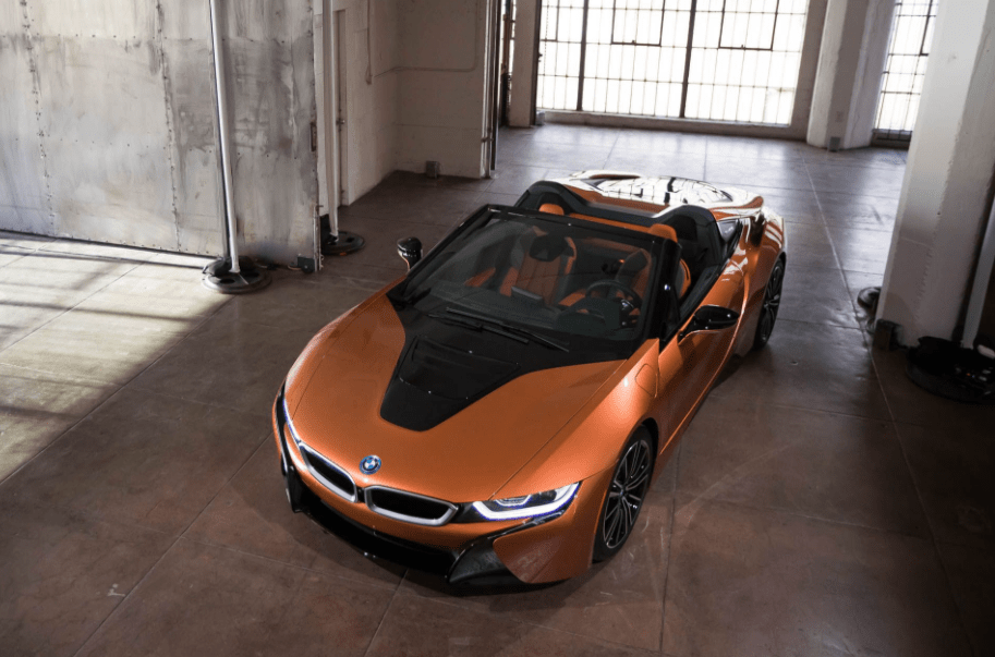 2019 BMW i8 Front Top View