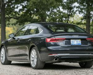 2018 Audi A5 Rear View