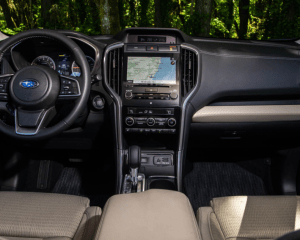 2019 Subaru Ascent Dashboard View