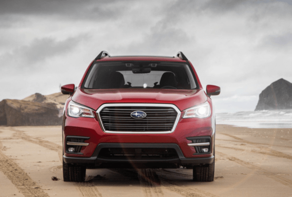 2019 Subaru Ascent front grille review